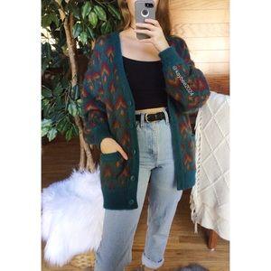 🌿 Vintage Retro Autumn Cozy Grandpa Cardigan 🌿
